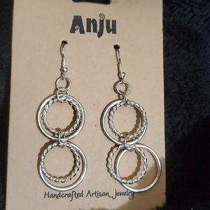 Anju Silver Plated Earrings